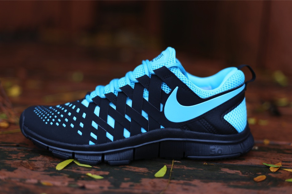 designer fashion cb9aa 334a9 Nike Free Trainer 5.0 - Gamma Blue Black