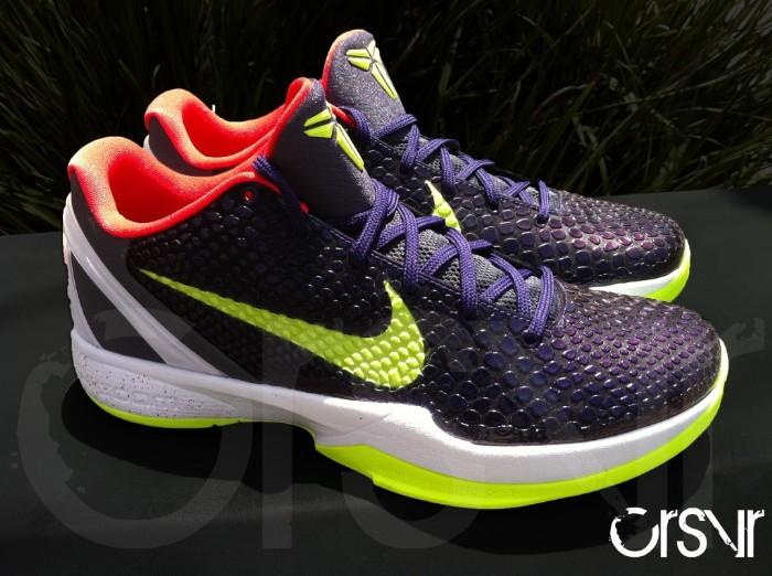 eb9dccbb82b5 Nike Zoom Kobe VI Chaos Chroma Volt Black Dark Grey White 429659-500