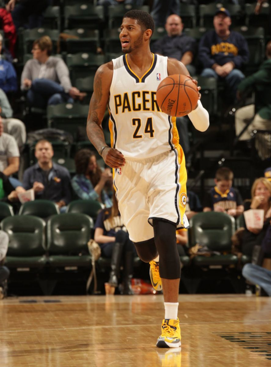 Paul George S High Top Shoes
