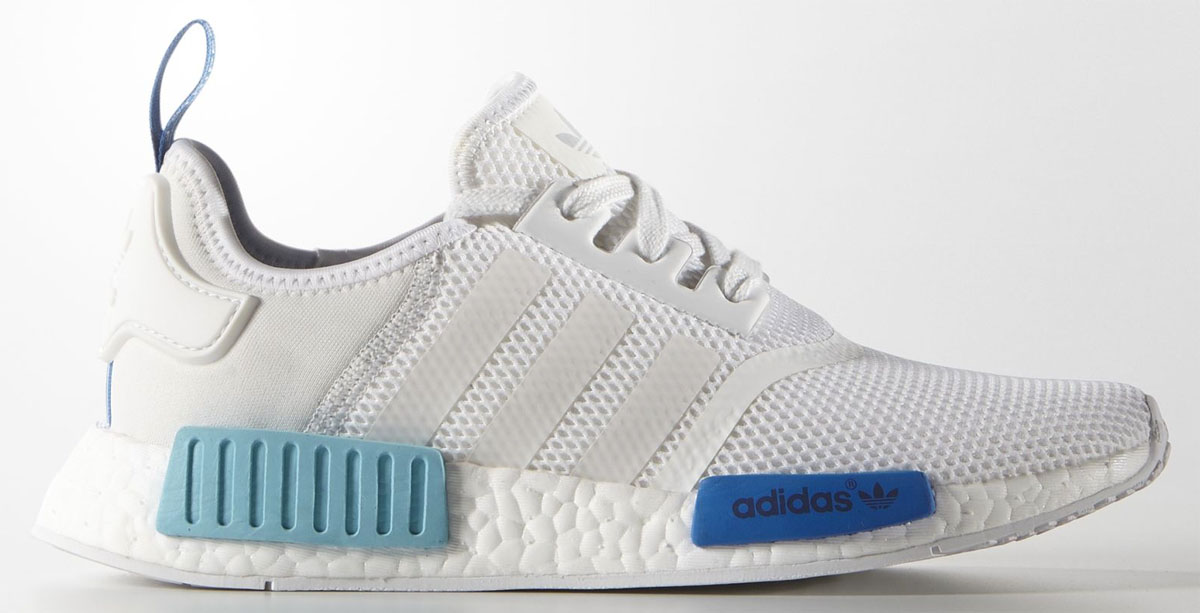 adidas NMD Women's White/Blue