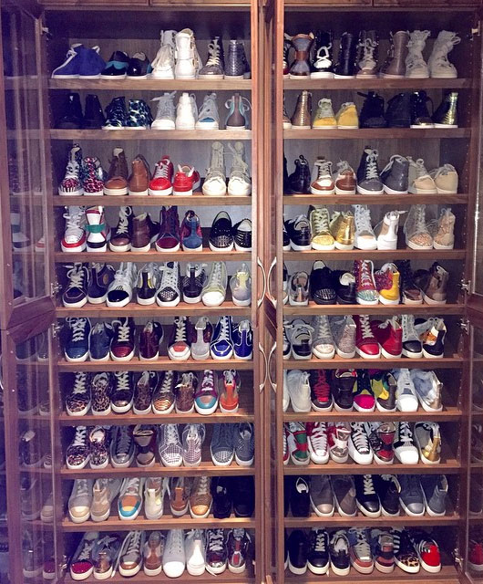 Floyd Mayweatheru0027s Sneaker Closet (1)
