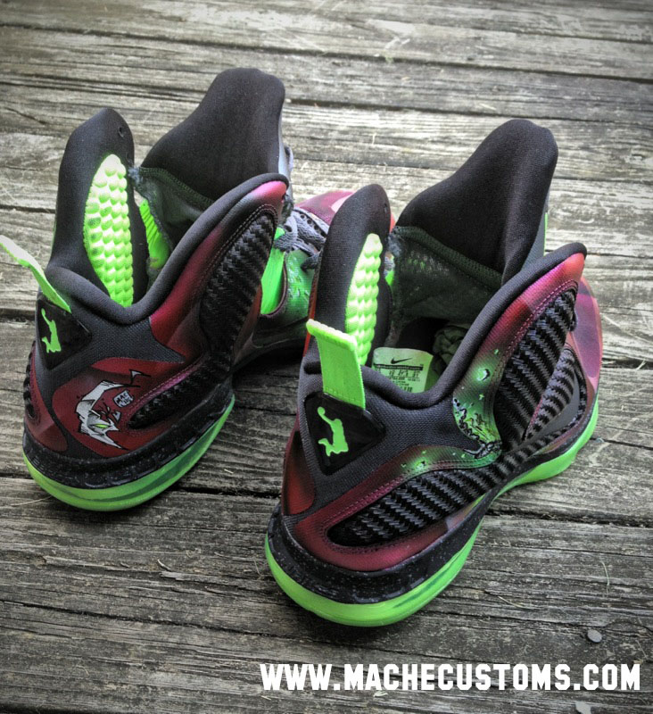 Nike LeBron 9 IX Spawn by Mache Custom Kicks (5)