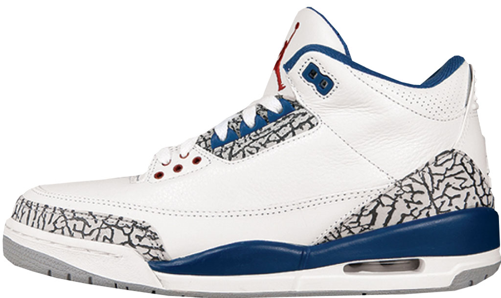 7080d69bbf67 Air Jordan 3 Retro  Mocha  136064-121 White Dark Mocha 09 15 2001. Air  Jordan 3 Retro  True Blue