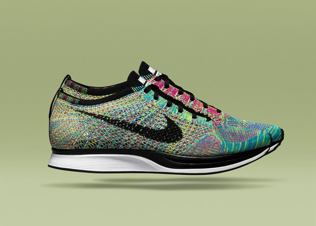96a4d95e2179 ... get the limited edition multi color flyknit racer will release  exclusively at nike stadium milano on