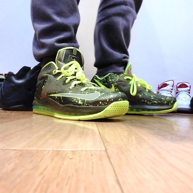 free shipping ad319 65c6e Nike LeBron XI 11 Low Dunkman Release Date 642849-200 (5)