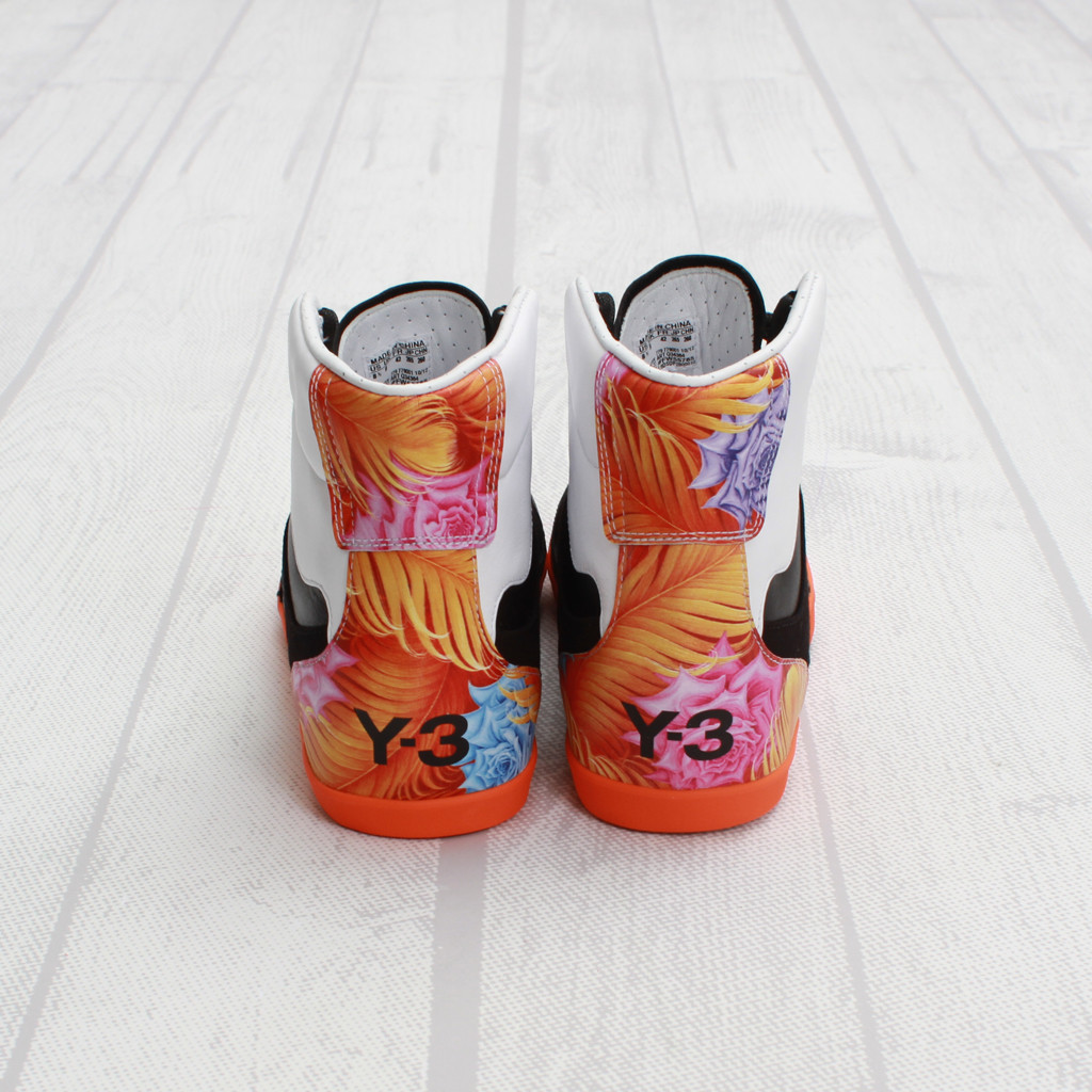 ba432d2c1bf26 The adidas Y-3 Honja High in Black   Graphic is available now at Concepts.