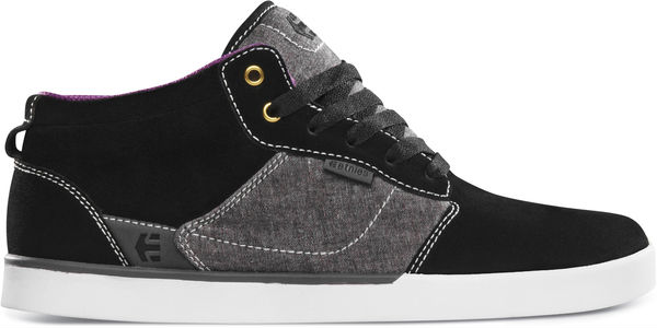 etnies Jefferson Mid Spring 2013 Black Grey