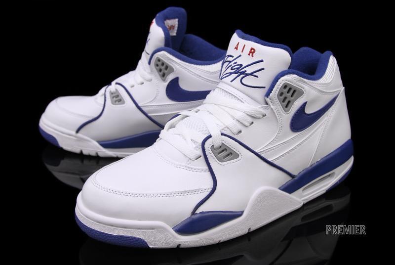 Buy Discount Nike Air Flight 89 Royal Blue Wolf Grey Varsity Roy