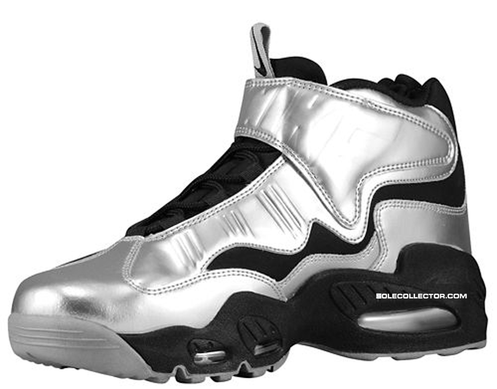 the best attitude 9a0a9 a4251 Release Date  Nike Air Griffey Max 1 Black Metallic Silver-Light Magnet Grey
