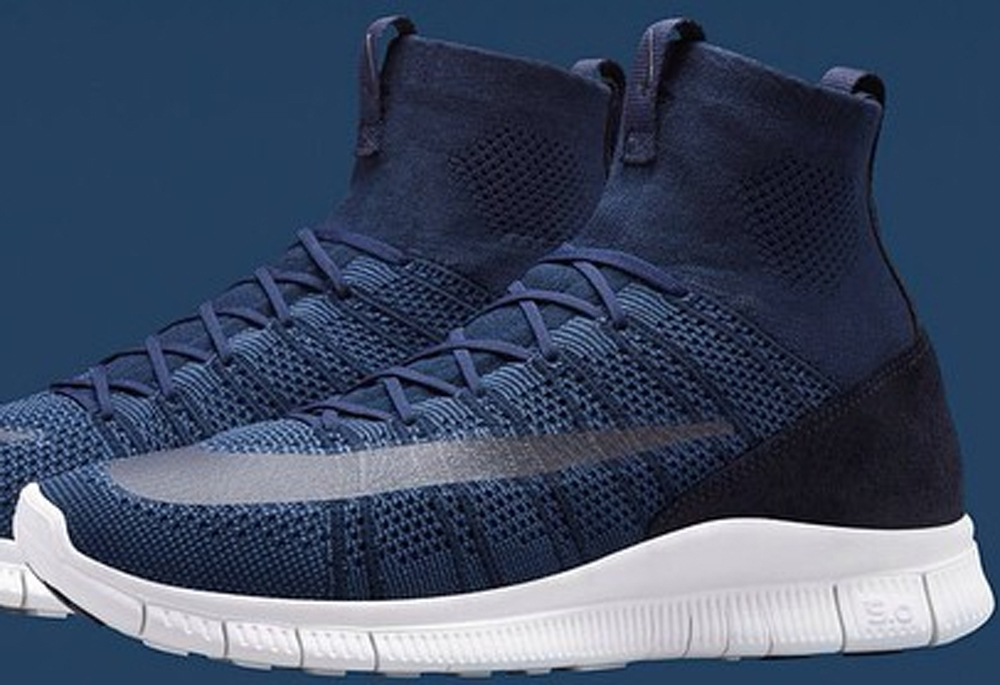 Nike Free Mercurial Superfly Dark Obsidian/White