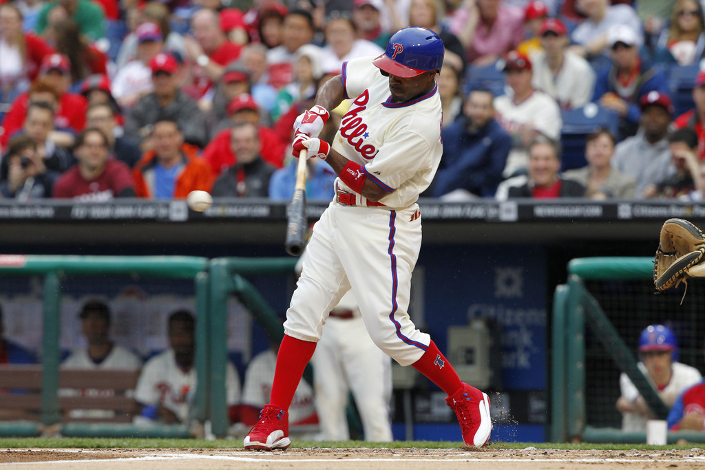 MLB Watch Best of 2013 Jimmy Rollins Jordan 12 PE