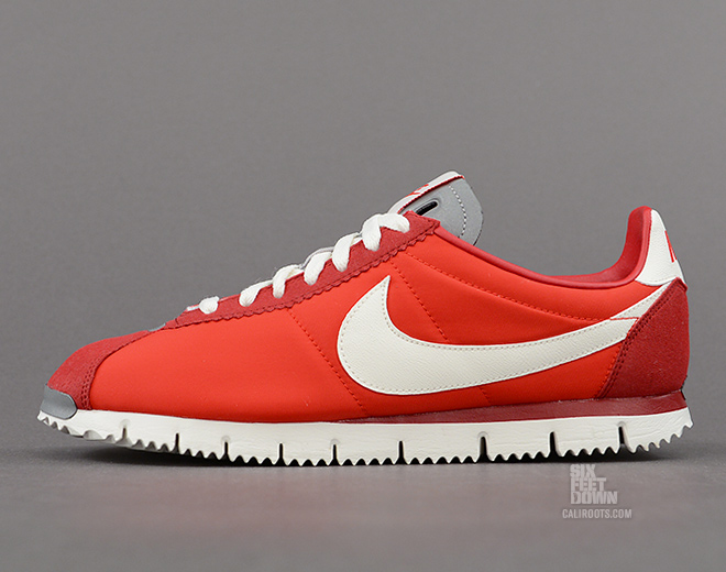 Nike Cortez NM QS in Chilling Red Profile