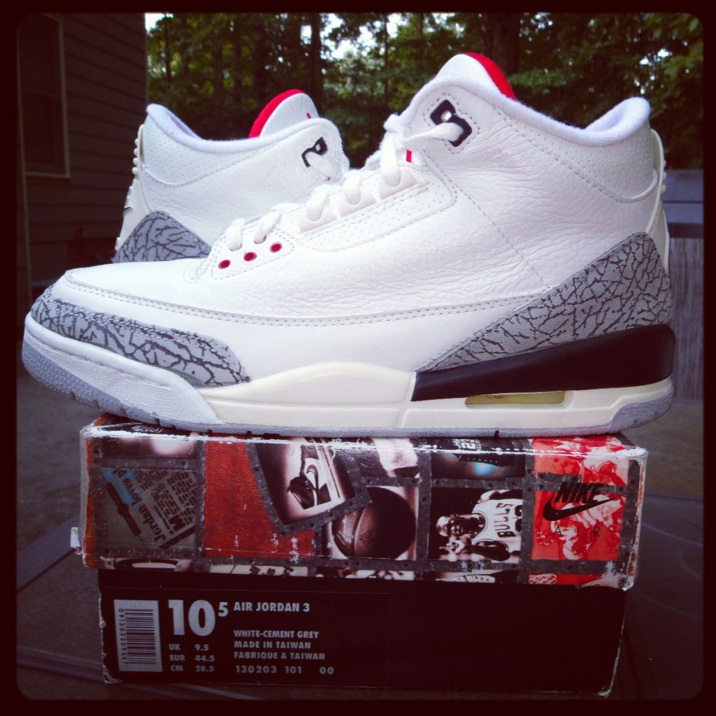 Spotlight // Pickups of the Week 10.6.13 - Air Jordan III 3 Retro '94 Cement by ddoraii