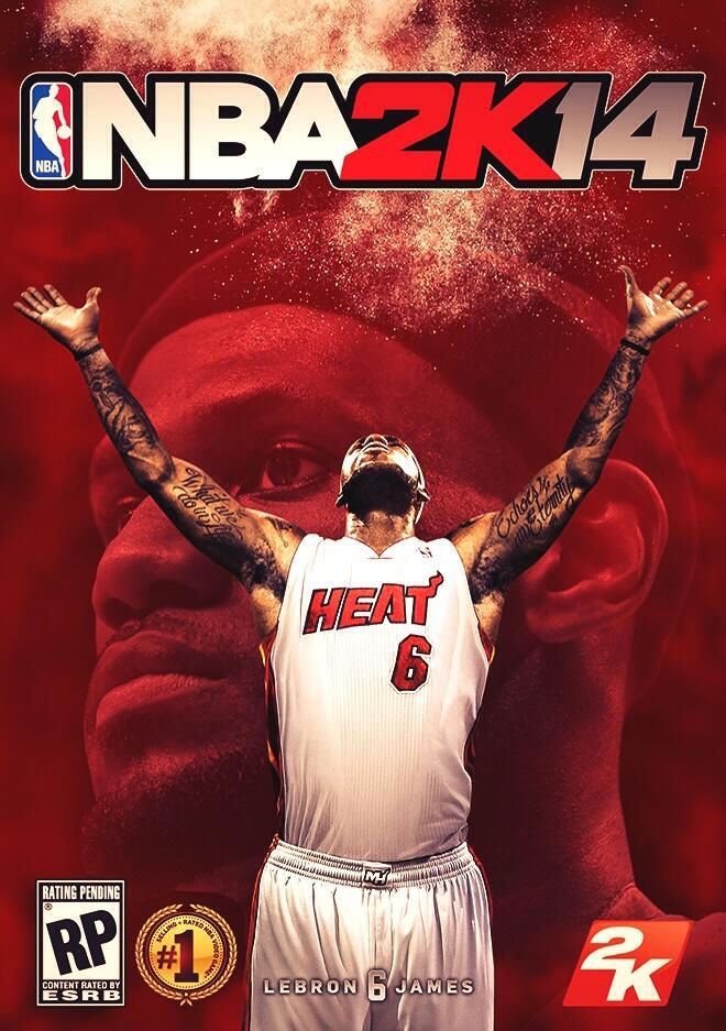 LeBron James Covers NBA 2K14