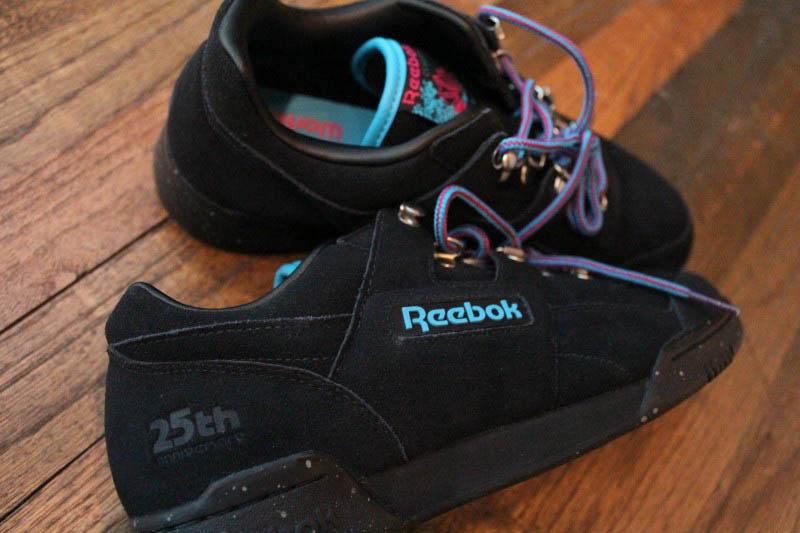 Reebok Workout Plus 25th Anniversary Black  0258a4875