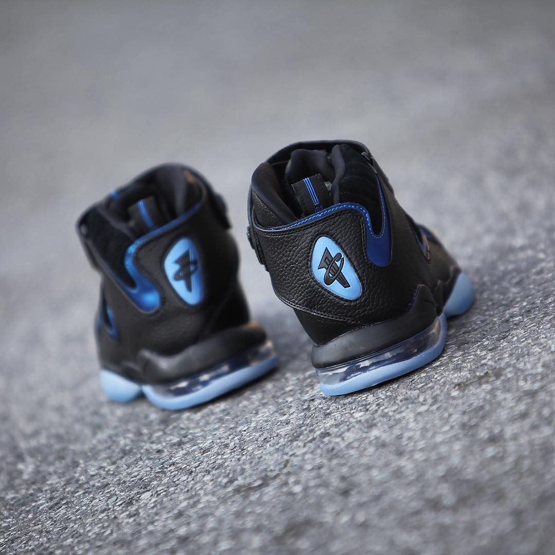 Nike Air Penny 4 Retro Black/Blue 2017 Release Date (3)