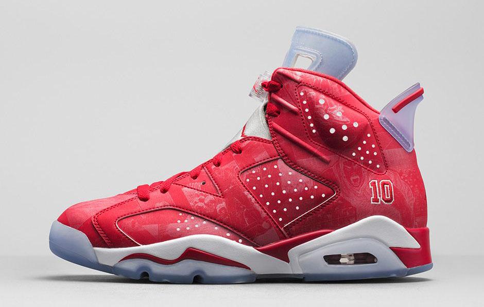online store d46a9 6f5ef Air Jordan VI 6 Slam Dunk 717302-600 Release Date