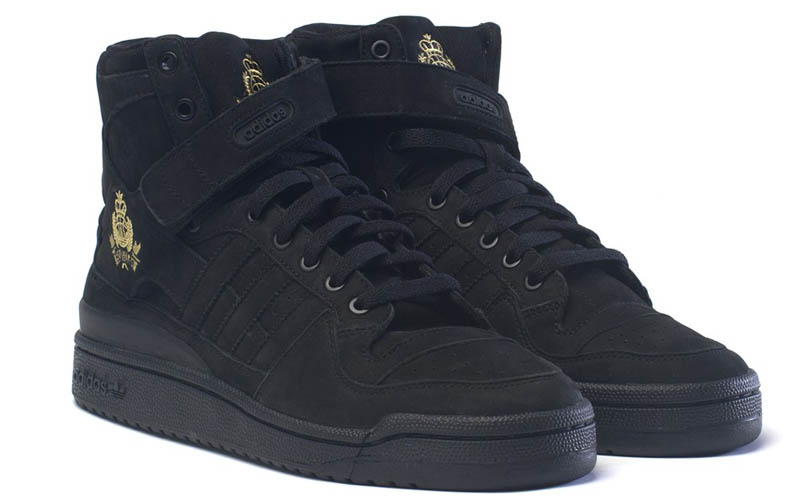 Frank the Butcher x adidas Originals Forum Crest Hi Black