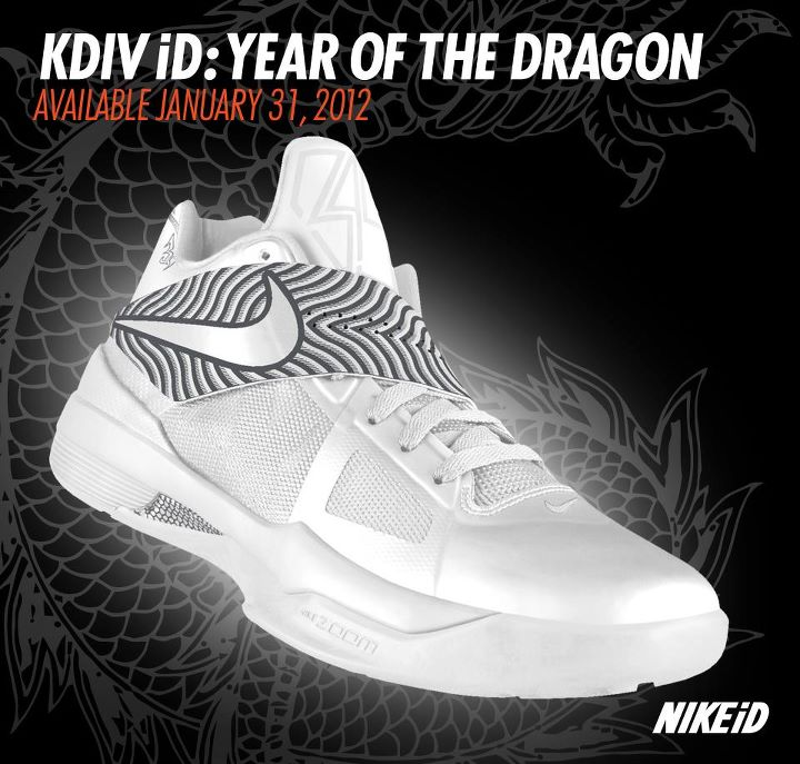 594bb1b50eeead Nike Zoom KD IV - Year of the Dragon NIKEiD Design Option Available ...