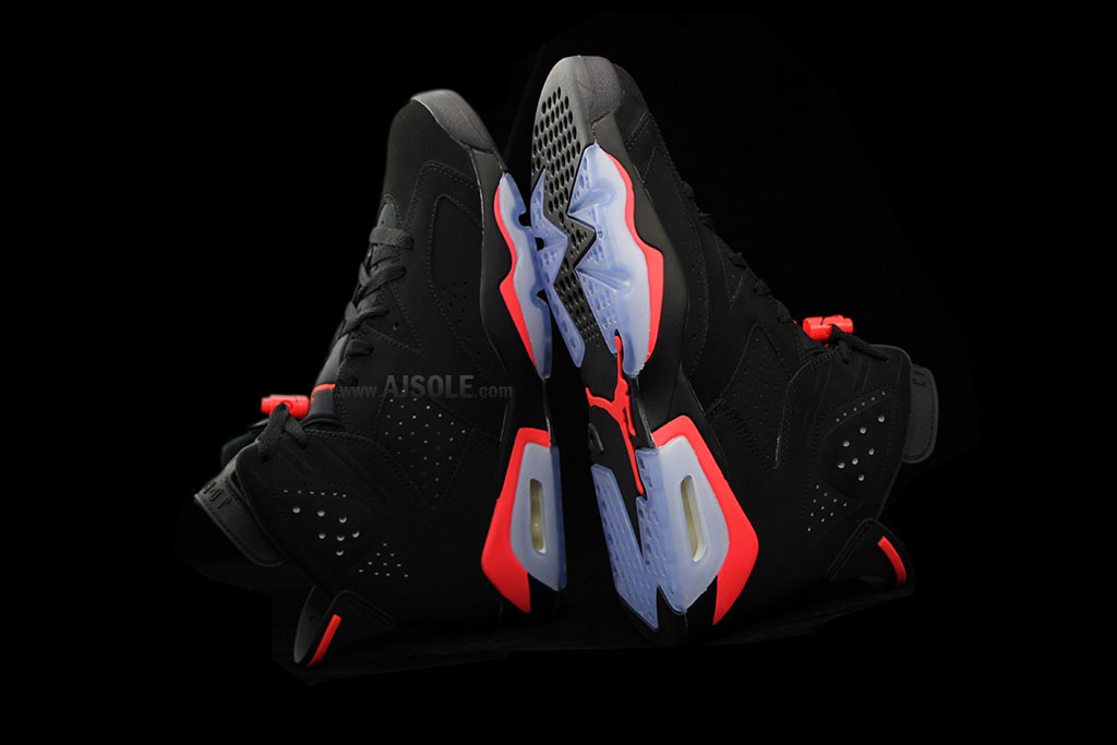 Air Jordan VI 6 Black Infrared Release Date 384664-023 (3)