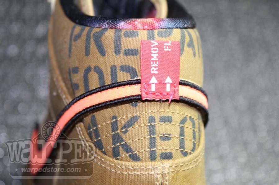 cheaper bc5a5 61acc Nike Dunk High Premium QS Galaxy All-Star Flight Gold Total Orange  503766-780
