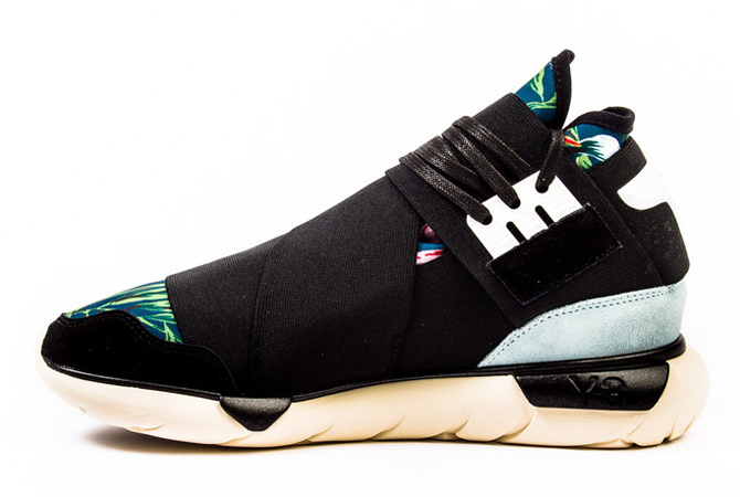 d456c5f14 ... but Y-3 acolytes should be used to paying that much by now. The floral  adidas Y-3 Qasa High is available now at retailers like Probus NYC.