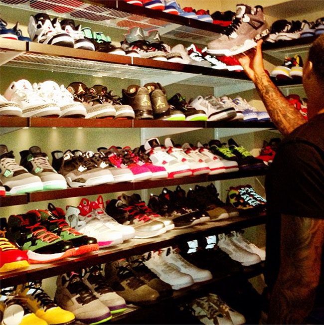 Carmelo Anthony S Sneaker Closet Sole Collector