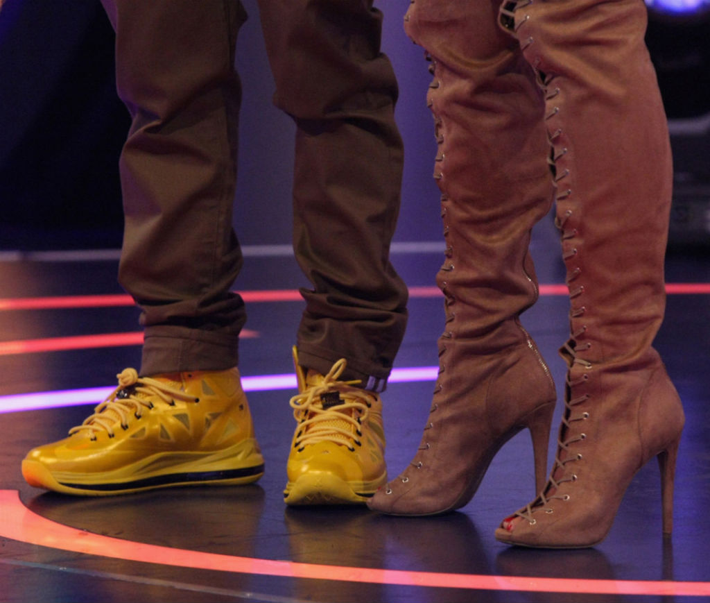 1ae3ad7bf5e4 Bow Wow Wearing NIKEiD LeBron X Must Be The Honey (3)