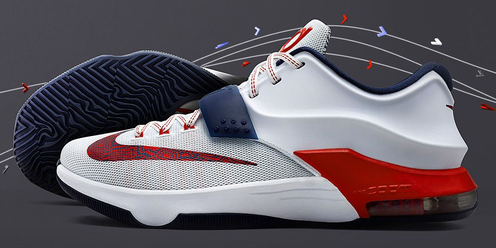 Nike KD VII 7 July 4th Release Date 653996-146