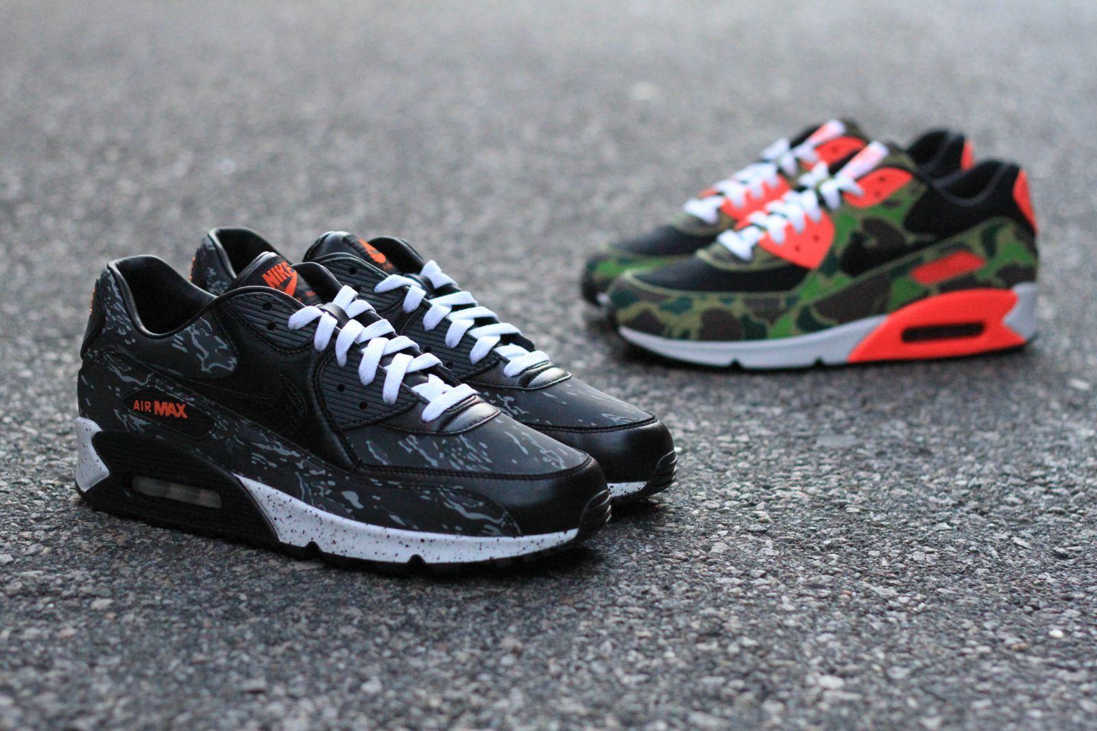 atmos x Nike Air Max 90  Premium Camo Pack  - Available at Bodega ... 0f773706b
