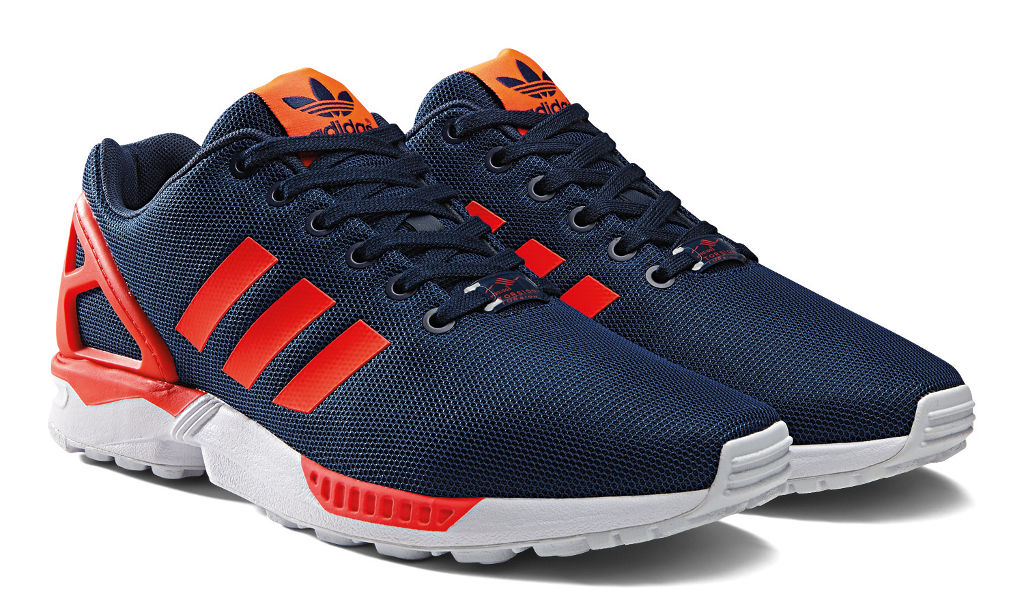 adidas ZX Flux Base Pack Navy/Red (6)