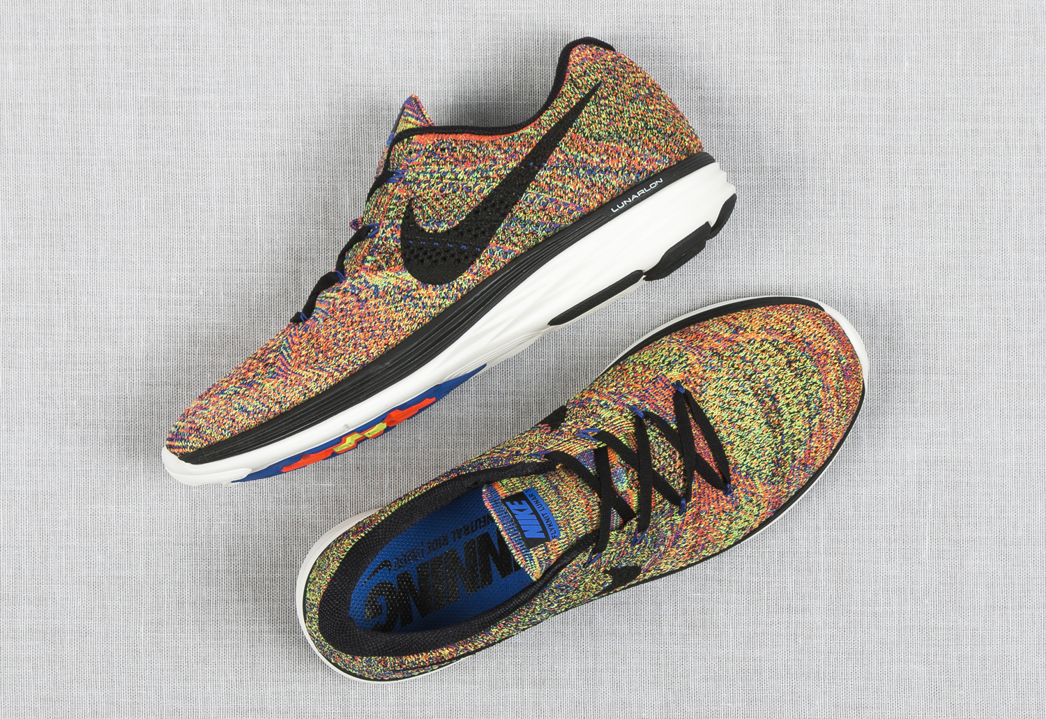 separation shoes f21fd 7e03d Nike Brings Multicolor to Flyknit Lunar 3s | Sole Collector