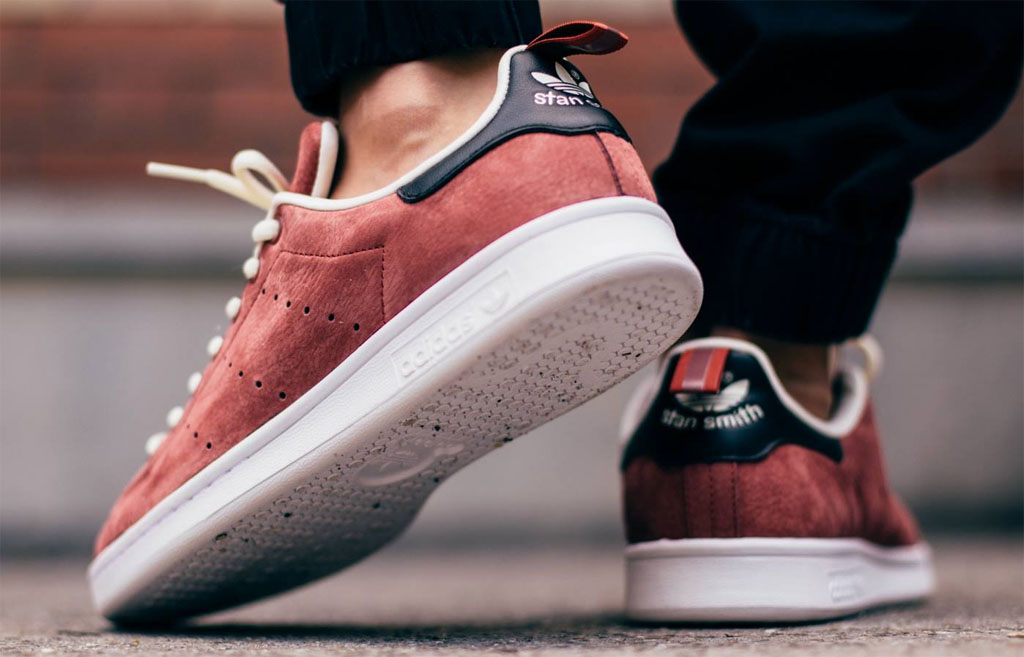 adidas Stan Smith Rust Red (2)