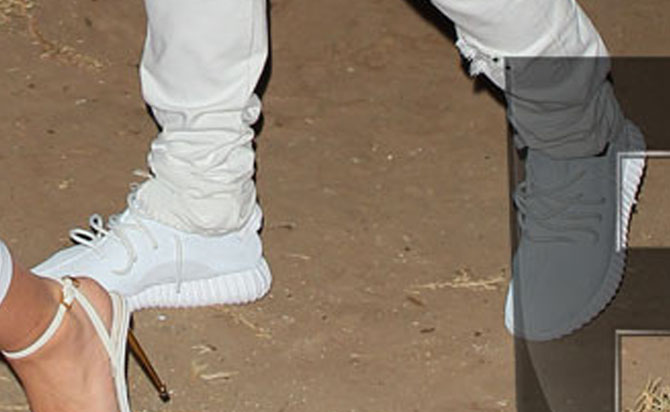 b10f487b3bf877 Kanye West wearing the adidas Yeezy 350 Boost All-White (3)