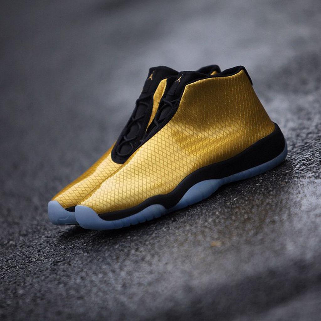 Air Jordan Future Black And Gold