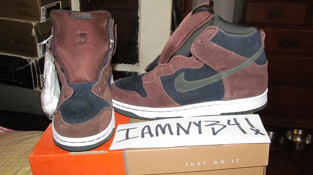 Spotlight // Pickups of the Week 4.14.13 - Nike SB Dunk High Pro Paul Brown by iamny34