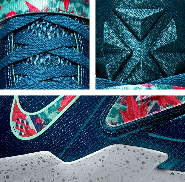 Nike Zoom Soldier 7 VII Power Couple details