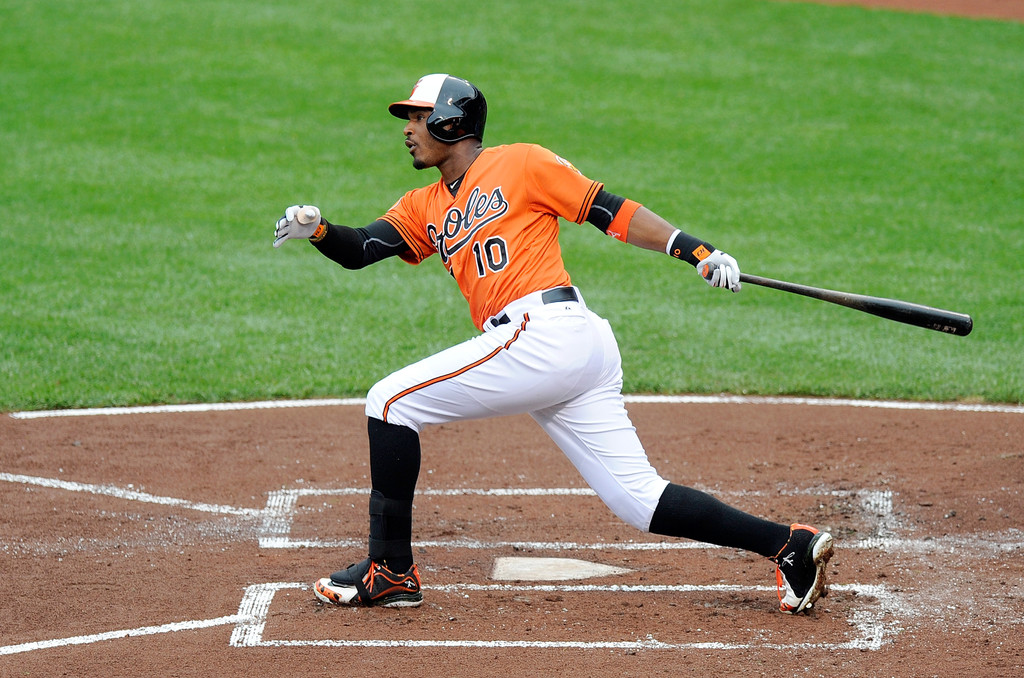 MLB Watch Best Of 2013 Adam Jones Nike Air Swingman MVP