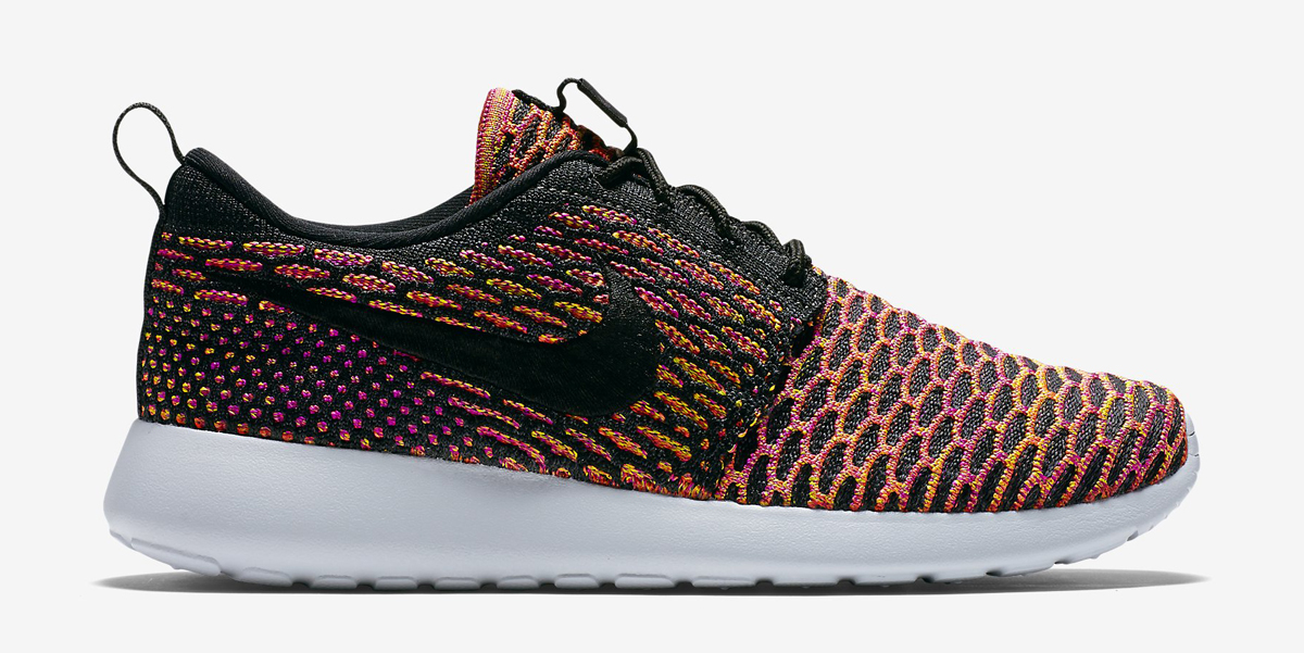 designer fashion f5b13 0c51a ... roshe run flyknit multi color sneakernews 89c72 a763b norway nike gives  the people another multicolor flyknit sneaker. a womens exclusive colorway.