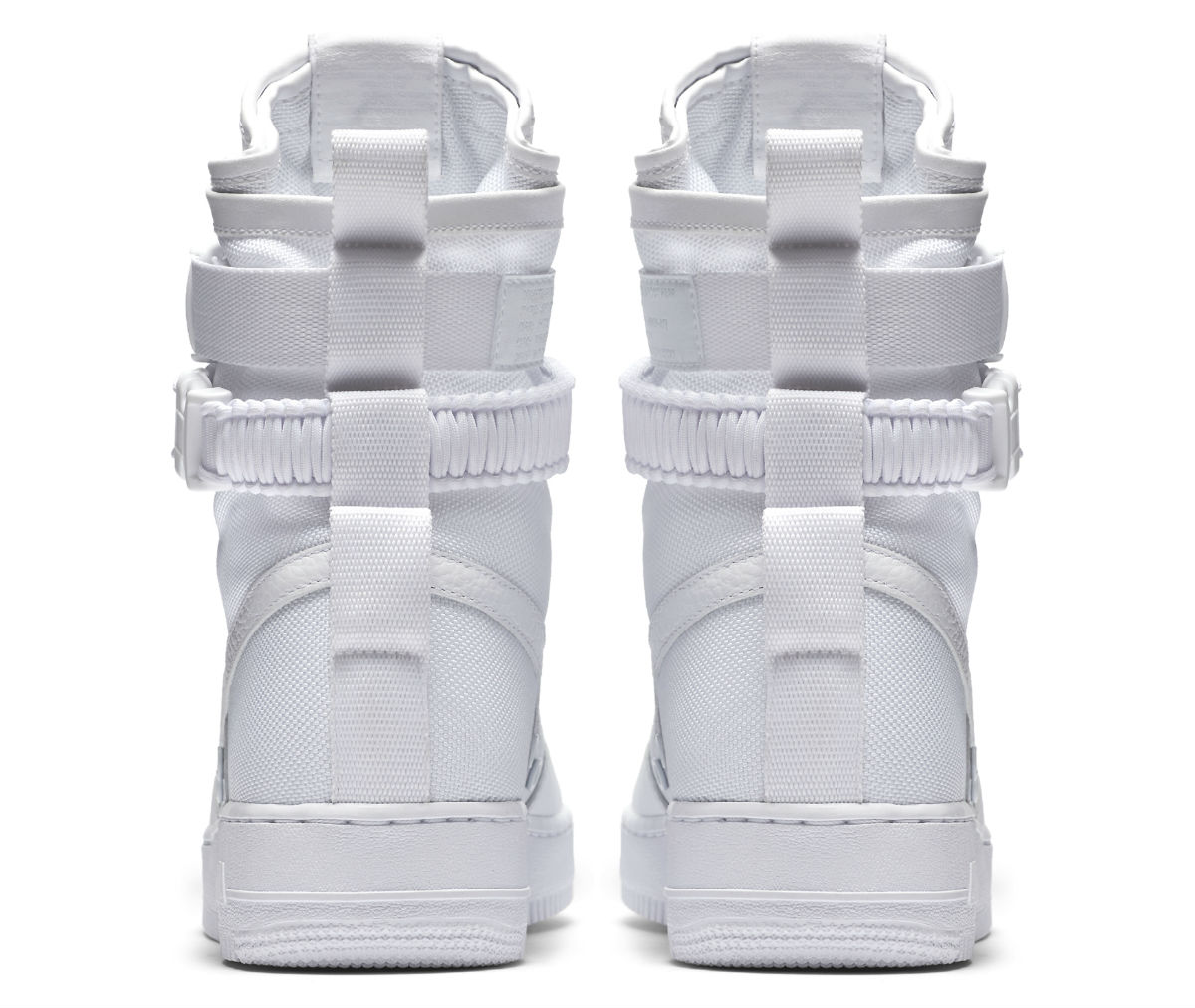 Nike AF Air Force 1 High White Release Date Heel 903270-100 fdcb37bd4