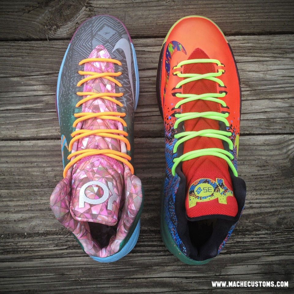 "Nike KD V ""What the KD"" by Mache Custom Kicks (4)"