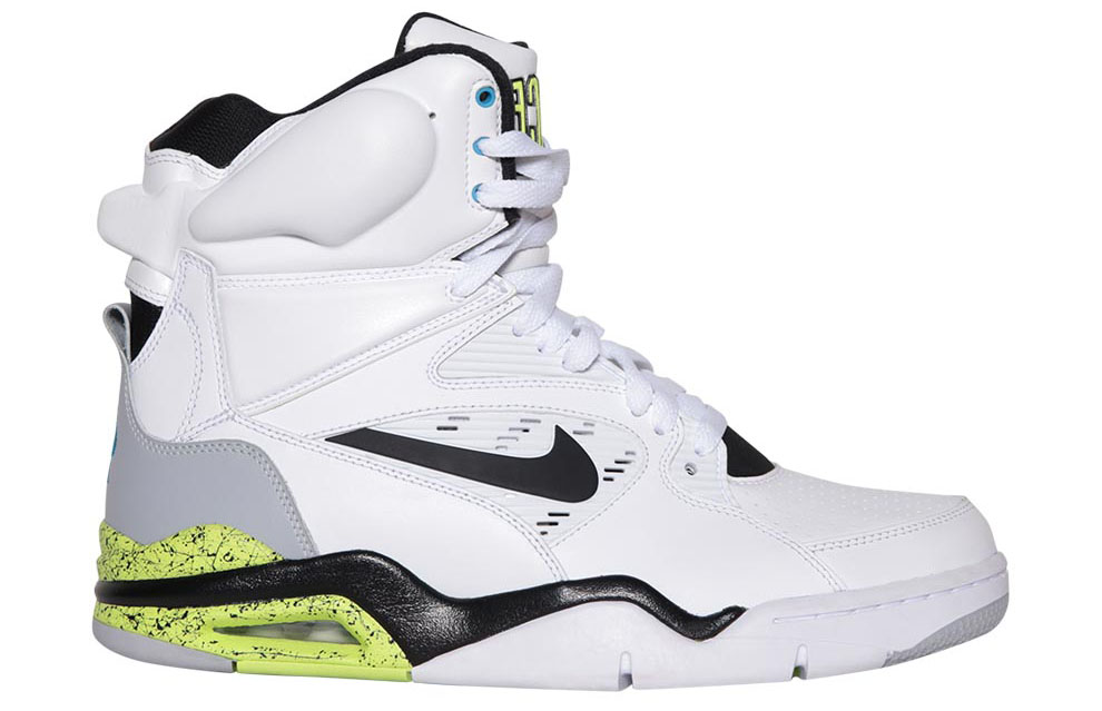 Nike Air Command Force White/Wolf Grey-Volt-Black Billy Hoyle Release Date 684715-100 (1)