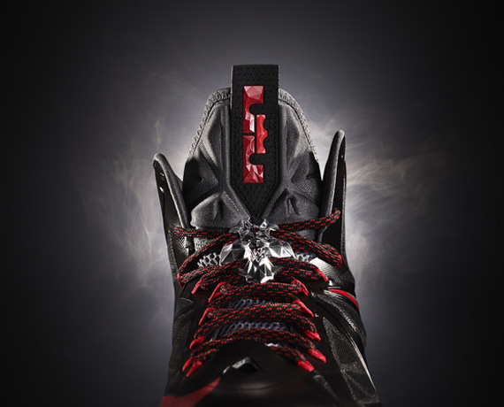Nike LeBron 10 X Red Black Gold