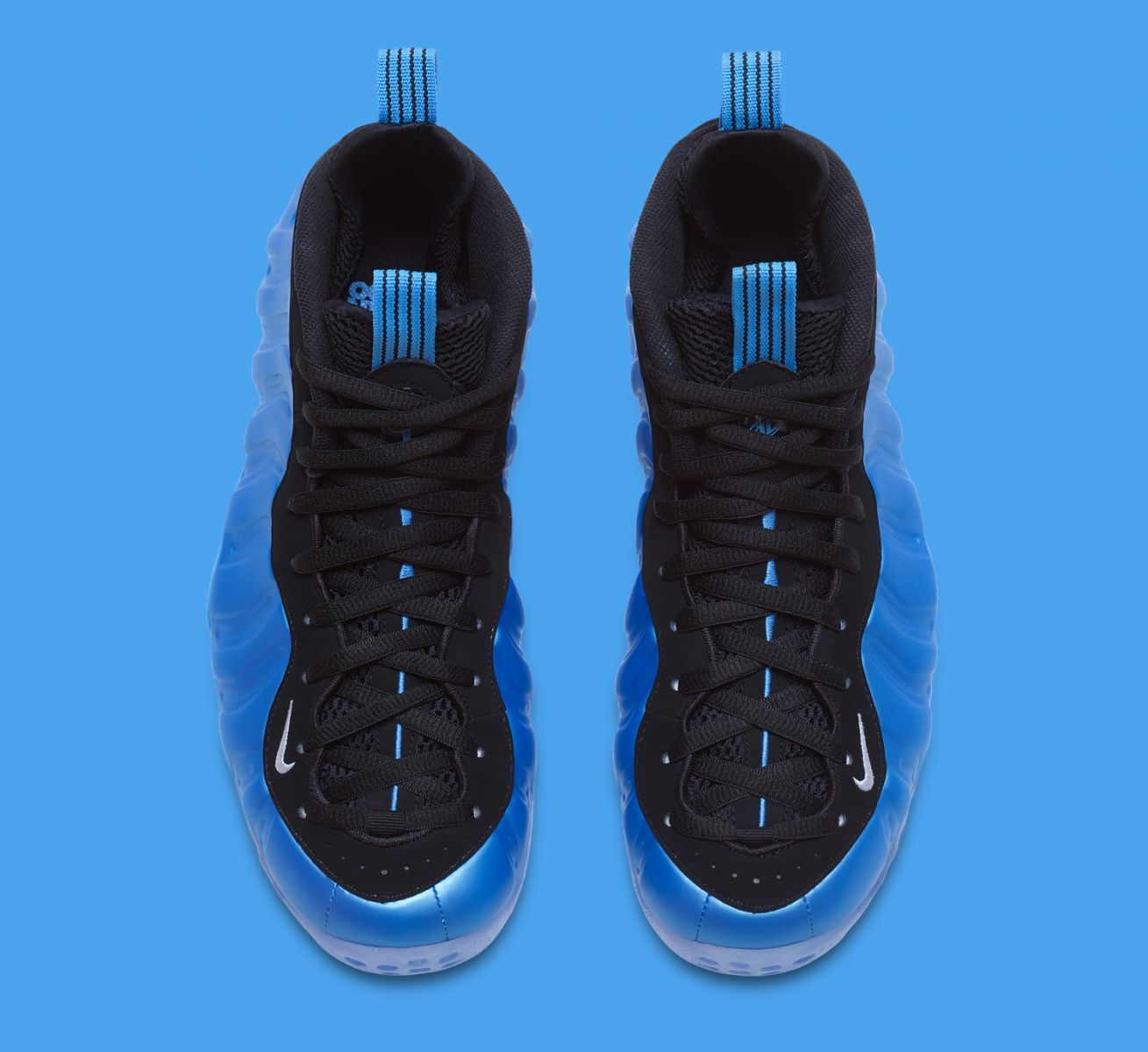 quality design 309b7 c738d Get a Detailed Look at  University Blue  Nike Foamposites