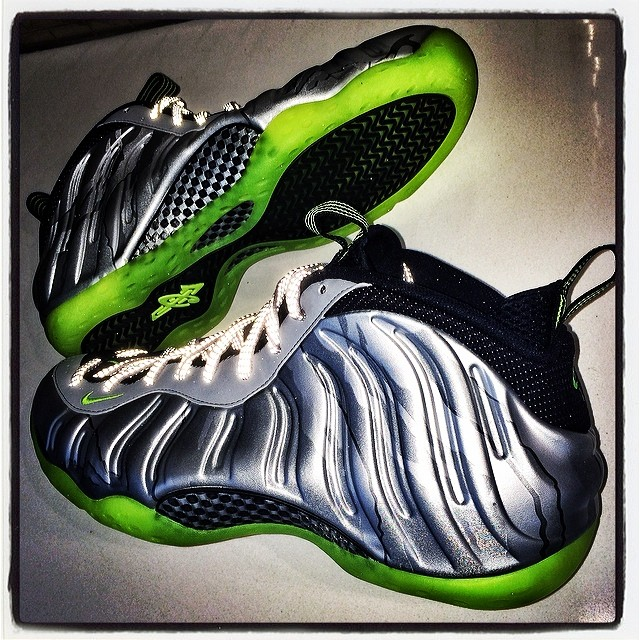 DJ Skee Picks Up Nike Air Foamposite One Silver Camo