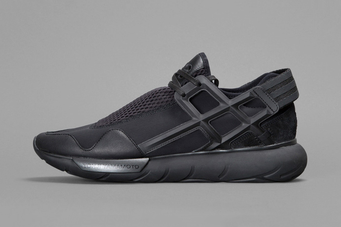 60d3b63864ddb adidas Y-3 Qasa Racer in Triple Black That Kanye Will Probably Be ...