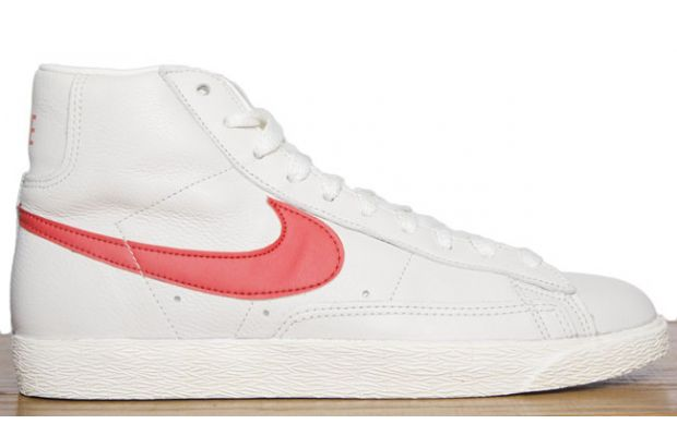 nike blazer red white