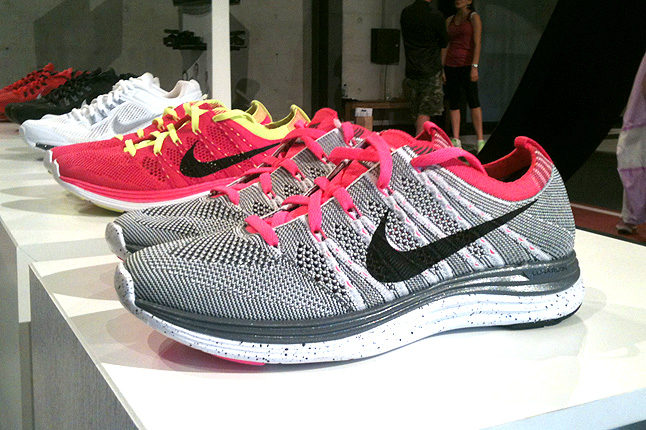 69e19cb17aae Take a closer look at the new Nike Flyknit One+ in the images below
