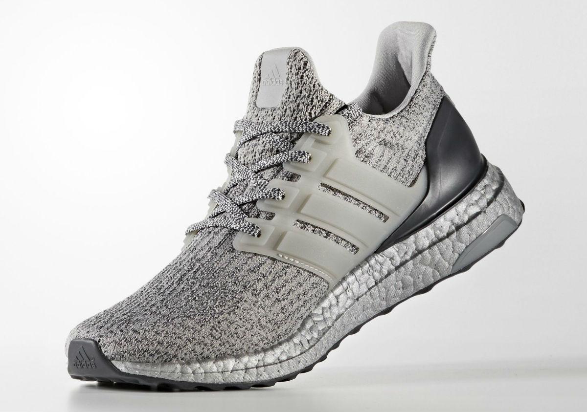 3d9f411304d1f Adidas Ultra Boost 3.0 Silver Medial BA8143