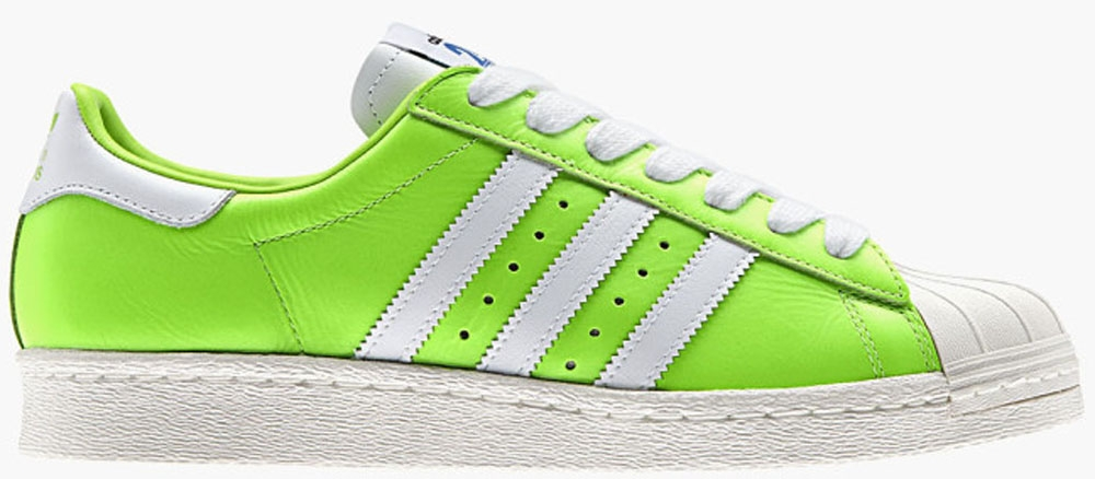 adidas Originals Superstar 80s Solar Green/Running White